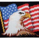 Craftways Patriotic Eagle Wall Hanging (270034) NEW