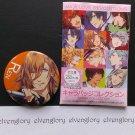 """Uta no Prince-sama Maji Love Revolutions Badge Collection No. 5 Ren 2.5"""" Button Pin"""