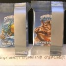 General Mill's Skylander's Skystones Game Cards Set of 2 Boxes # 1 (Snapshot & Wallop)