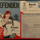 Comic Book Legal Defense Fund Defender # 1 Spring 2015