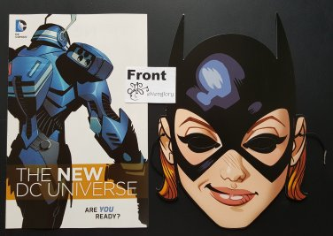 DC Comics The New DC Universe 2015 Preview Comic & Batgirl Mask Set