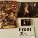 Shingeki no Kyojin/Attack on Titan Badge & Card Collection Oleo & Petra