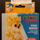 Sonic the Hedgehog Collector's Edition Pixel Bricks Tails Figure from Comic Con Box