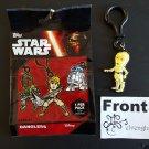 TOPPS Disney Star Wars Dangler C-3PO Strap Clip