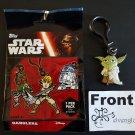 TOPPS Disney Star Wars Dangler Yoda Strap Clip