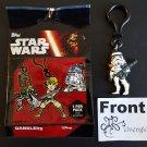 TOPPS Disney Star Wars Dangler Sandtrooper (Stormtrooper) Strap Clip