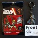 TOPPS Disney Star Wars Dangler Darth Vader Strap Clip