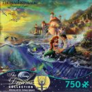 Disney The Little Mermaid The Dreams Collection Art by Thomas Kinkade 750 Piece Jigsaw Puzzle