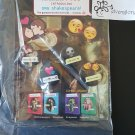 NYCC 2015 OMG Shakespeare! 4 Can Badge / Pin / Button Set