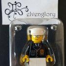 LEGO Large Minifigure Display Case Exclusive Police Office / Cop Minifigure