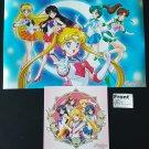 NYCC 2015 Viz Media Sailor Moon Poster & Oversize Card Flyer