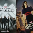 NYCC 2015 Marvel Agent of SHIELD / Agent Carter Double-sided Poster / Pin-up