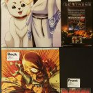 Gintama / One-Punch Man Double-sided Pin-up / Poster + Flyer