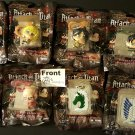 Attack on Titan Backpack Hangers Complete Figure Set of 8