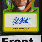 Topps 2015 Star Wars Journey to the Force Awakens Trading Card Autograph Card John Morton