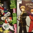 Blood Blockade Battlefront / Gintama Double-sided Poster / Pin-up