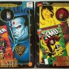 Marvel Famous Covers Series Mr Sinister & Variant Dark Phoenix Poseable Figures