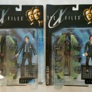 The X-Files Fight the Future Series 1 Mulder & Scully Action Figures