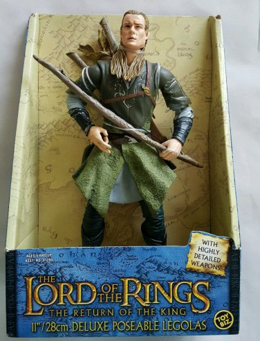 Lord of the Rings Deluxe Poseable Legolas