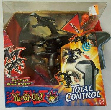 Yugioh Red Eyes Black Dragon Figure with Sound Mattel