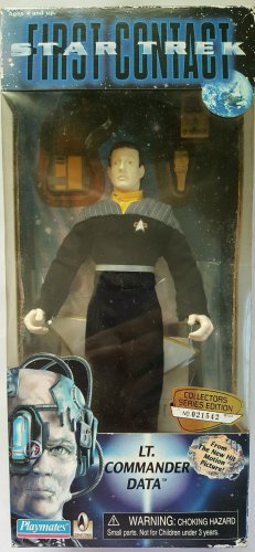 Star Trek First Contact Collector's Series Edition Lt. Commander Data Figure