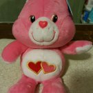 Care Bears Love-a-Lot Bear 8 in. 20th Anniversary Collector's Edition Plush NWT