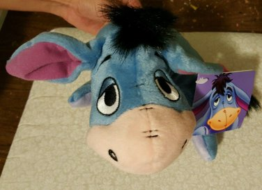Disney Winnie the Pooh Eeyore 7 in bean bag Plush by Fisher Price