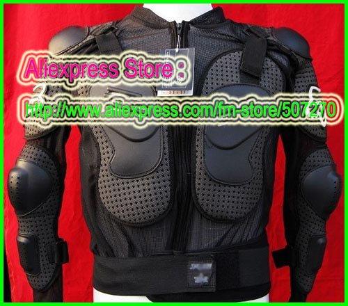 FOX Black Gilet Jackets Protector Body Armor Motorcycle Gear Racing Armour With Tags M L XL XXL XXXL