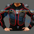 FOX Black Red Gilet Jackets Protector Body Armor Motorcycle Gear Racing Armour With Tags