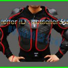 FOX Black Red Gilet Jackets Protector Body Armor Motorcycle Gear Racing Armour M L XL XXL XXXL