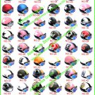HOT SELL ! Casco Half Bol Vespa Cycling Open Face Motorcycle Helmet & Goggles SIZE M , L , XL