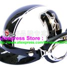 P.19 ABS Half Bol Cycling Open Face Motorcycle White # Black 13 Helmet Casco Casque & Goggles