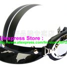 P.24 ABS Half Bol Cycling Open Face Motorcycle Matt White # Black Helmet Casco Casque & Goggles