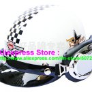P.60 ABS Half Bol Cycling Open Face Motorcycle White # Grid Helmet Casco Casque & Goggles