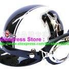P.78 ABS Half Bol Cycling Open Face Motorcycle White # Black 13 Helmet Casco Casque & Goggles