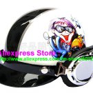 P.97 ABS Half Bol Cycling Open Face Motorcycle White # Motor Boy Helmet Casco Casque & Goggles