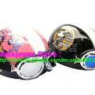 A.22- 2 Unit ABS Half Bol Vespa Cycling Open Face Motorcycle Pink + Black Helmets & Goggles