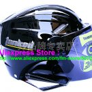 "New Germany ""Tanked 501"" Half Vespa Motorcycle Open Face Racing Cycling Black Helmet"