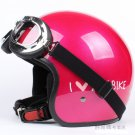 "H.10 Taiwan "" EVO "" ABS Scooter Open Face Casque Motorcycle Red "" MY BIKE "" Helmet & UV Goggles"