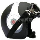 "H.126 Taiwan "" EVO "" Half Face Motorcycle "" e earphone HD"" Matt Black Helmet & UV Goggles"
