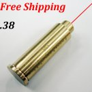 CAL: .38 Cartridge Bore Sighter Red Dot Laser Boresighter Sight Hunting #01