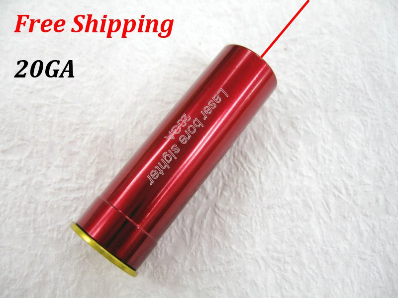 20GA New CAL:20GA Cartridge Bore Sighter Red Dot Laser Boresighter Sight Hunting #16