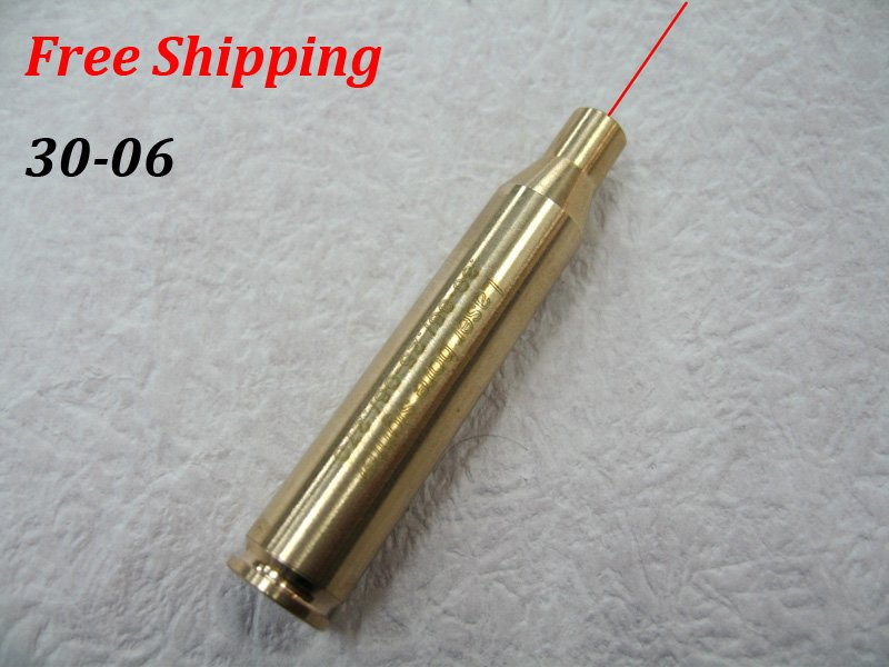 CAL: .30-06/.25-06/.270WIN Cartridge Bore Sighter Red Dot Laser Boresighter Sight Hunting Copper #17