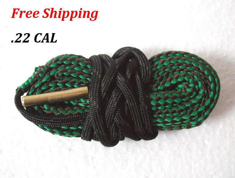 .22 CAL Bore Snake Gun Cleaning Shotgun Caliber Cleaner Hunting Rifle/Pistol #06