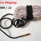 8MM / .32 Caliber Bore Snake Gun Cleaning Shotgun Cleaner Hunting Rifle/Pistol #08