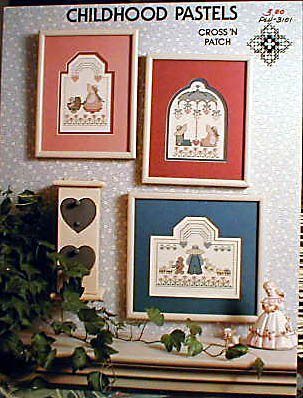 Childhood Pastels - Cross Stitch in MINT Condition