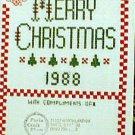 Merry Christmas - 1988 - Cross Stitch Patterns