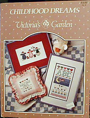 Childhood Dreams - Victoria's Garden - Cross-Stitch