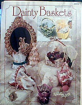 Dainty Baskets - Crochet - POOR - AT A SPECIAL PRICE; Bonus Patt