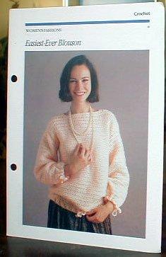 Easiest - Ever Blouson to Crochet - Beautiful!!